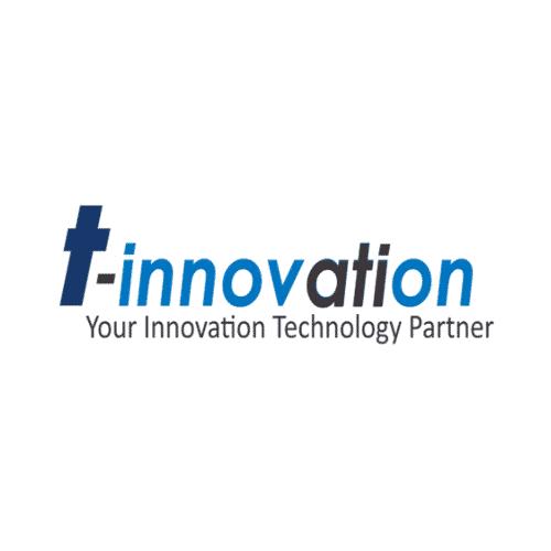 Scritta logo azienda T-Innovation